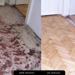 dřevěné podlahy- obrázek